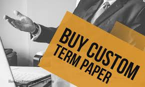 buy custom term paper on our website