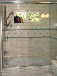 traditional shower designs. Subway Tile Shower Designs Blue Glass And White Teens Tub Traditional Bathroom A