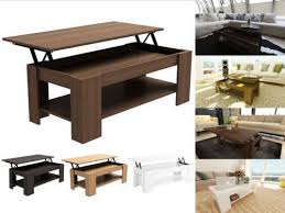Great Caspian Modern Lift Up Top Coffee Table With Storage Espresso  Intended For Coffee Table With Lift Up Top Remodel