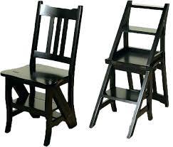 chair step stools check this chair step stool folding solid gany black convertible ladder chair library