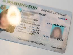 Weekerogon Washington - Holograms With License Driver Templates State