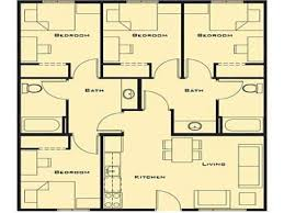 Small Picture Best Four Bedroom House Plans Gallery Home Design Ideas
