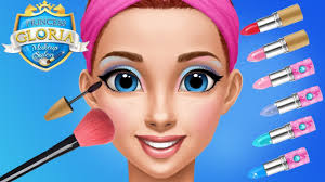 fun princess hair salon makeup care games princess gloria makeup makeover game for kids