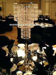 chandelier wedding centrepieces crystal chandeliers centerpieces table for with regard to amazing property tabletop chandel