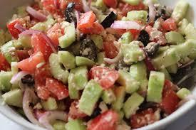 cuber greek salad
