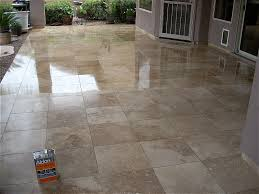 how to apply travertine sealers