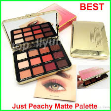 best makeup faced just peachy mattes eyeshadow palette eyeshadow velvet matte eye shadow palette canada 2019 from top liyun cad 6 71 dhgate canada