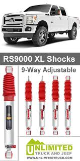 Rancho Shocks Rs9000xl Front And Rear Set Ford Excursion