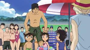 Episode 882 Detective Conan | Shuichi Akai and the Kids. He looks like an  older Brother for Shinichi and Ran too.