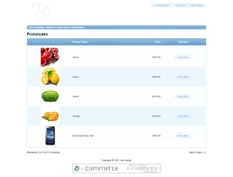 Product List Template Making a osCommerce template all the progress step by step multimixer 1