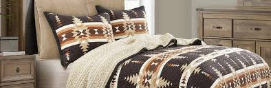 luxury western bedding