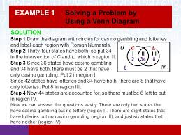 how to solve venn diagram problems section 2 4 using sets to solve problems math in our world ppt
