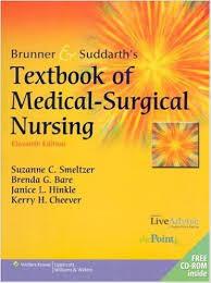 Brunner Suddarth 12 Edition Test Bank Brunner Suddarth S Textbook Of Medical Surgical Nursing 11th Edition Smeltzer Bare Hinkle Cheever Test Bank
