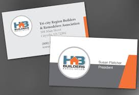 visting card format business card template for builders association order custom