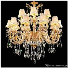 european large crystal chandelier hotel lighting cristal re 15 glass arms pendelleuchte for living meeting room md88006 wall chandelier spiral
