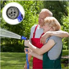150ft magic garden hose expandable water hose pipe blue water valve spray water nozzle with eu us connector