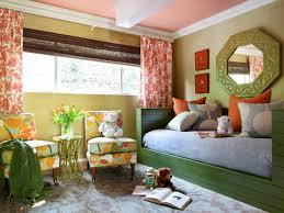 Orange And Green Bedroom Teenage Bedroom Color Schemes Pictures Options Ideas Hgtv