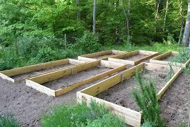 build raised garden bed slope growing days the art of raising beds in the veggie garden