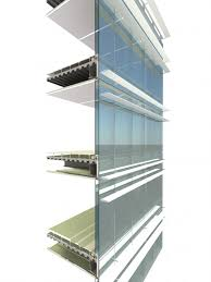 beijing cbd z8 curtain wall section