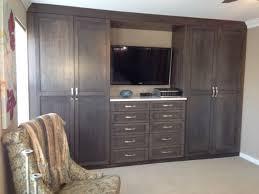 Dark Gray Closet Wall Unit traditional-bedroom