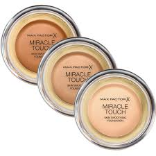 Max Factor Pan Stick Colour Chart Max Factor Miracle Touch Foundation 11 5g