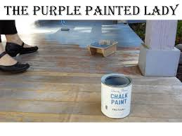 kitchen porch being painted
