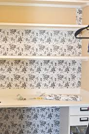 the whole wall of my closet when it was rolled vertically i used ss like the one you see in the upper right corner to fill in the extra space