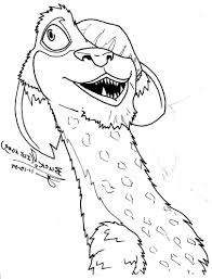 Small Picture Ice Age Coloring Pages Coloring Pages Kids