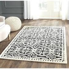 safavieh moroccan cambridge rug handmade black ivory rug safavieh handmade moroccan cambridge silver ivory wool rug