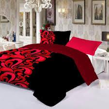 echo king size poly cotton fl pattern multi color bedding sets souq uae