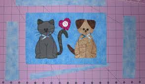 cat puzzle rug may mug rug tutorial cat puzzle play rug