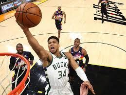 Bucks vs Suns: Giannis Antetokounmpo ...