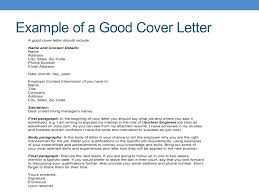 What Should You Write In A Cover Letter What How To Write A Cover