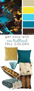 COZY FALL COLORS! A simple mood board to help you bring these  non-traditional