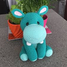 Amigurumi Patterns Free New Harriet The Hippo Free Amigurumi Pattern Jess Huff