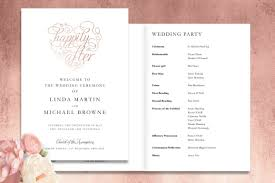 Wedding Ceremony Brochure Top Tips Order Of Service Or Ceremony Booklet Which Is