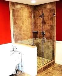 glass shower walls glass wer walls half wall door cleaning s half glass wer wall glass glass shower walls