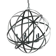 wrought iron sphere chandelier chandelier orb black orb chandelier large metal orb chandelier world market black wrought iron sphere chandelier