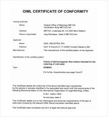 Samples Certificate Delectable Samples Certificate Awesome Download 48 Conformity Certificate