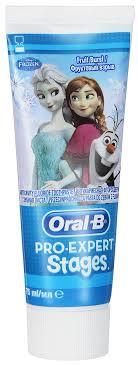 """<b>Oral</b>-<b>B Зубная паста</b> Pro-Expert Disney """"Холодное сердце"""", 75 мл ..."""