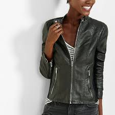 express double peplum minus the leather jacket