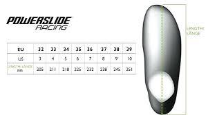 Bauer Skate Blades Chart Inline Skates Sizing Chart Insidethepark