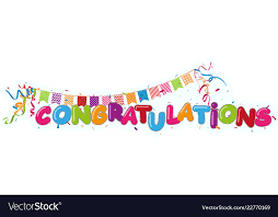 Congratulations Design Congratulations Design With Ribbon And Confetti