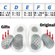 Walkfit Platinum Orthotics Size Chart Walkfit Platinum Orthotics Flat Foot Insole Orthopedic Insole As Seen On Tv