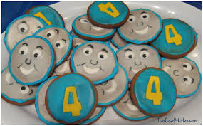 fun food for kids thomas biscuits