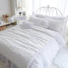 white lace duvet cover double sweetgalas with regard to king size plans 16