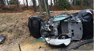 yisroel schachner was driving the black toyota camry when it ran off the road struck