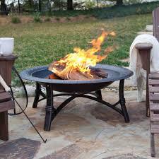 diy fire pit metal bowl