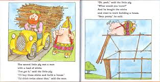 james marshall the three little pigs 2000 second pig builds his house