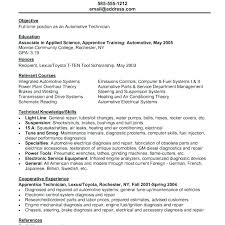 Auto Mechanic Resume Templates Beauteous Auto Mechanic Resume Template Smple Dos Tehn Quickplumberus